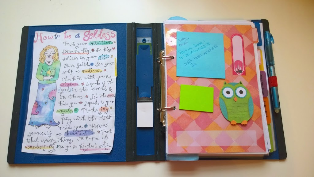 new home made teachers planner planning your life out on paper