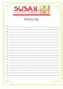 Victory log