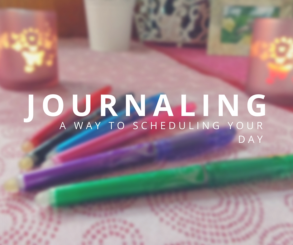 Journaling, a way to scheduling your day