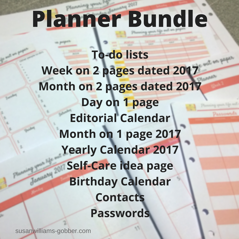 black friday cyber monday sale planning your life out on paper
