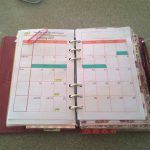 2017 Months on 2 pages , can be used as a forward planning for all bullet journals, or used in a traverler's notebook. Or in your Filofax