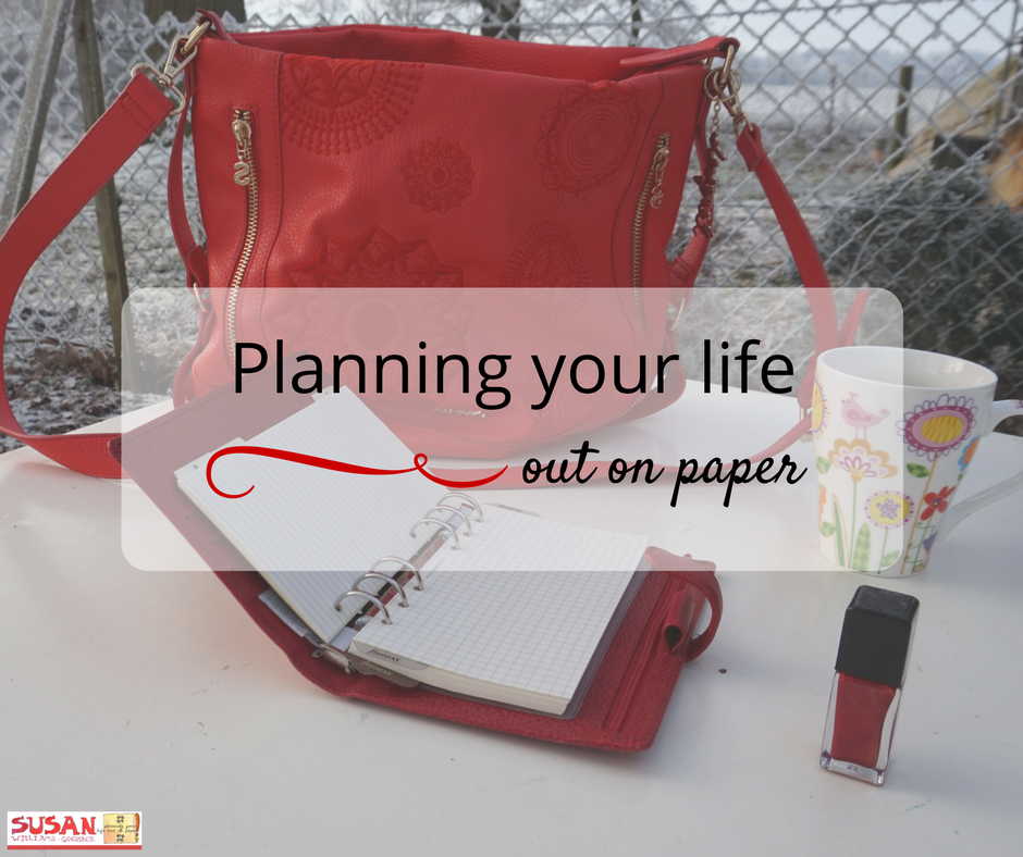 Take your planner with you everywhere and take charge of your day